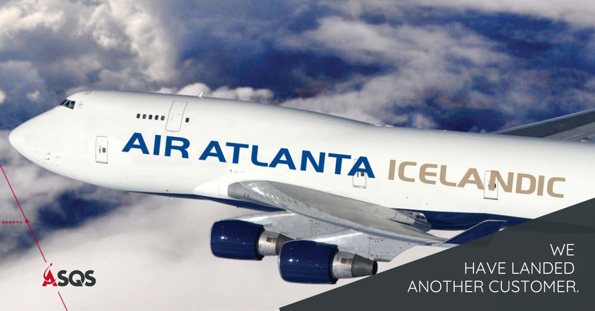 ASQS, IQSMS, aviation safety, SMS, risk management, quality management, reporting,  Air Atlanta Icelandic, Iceland